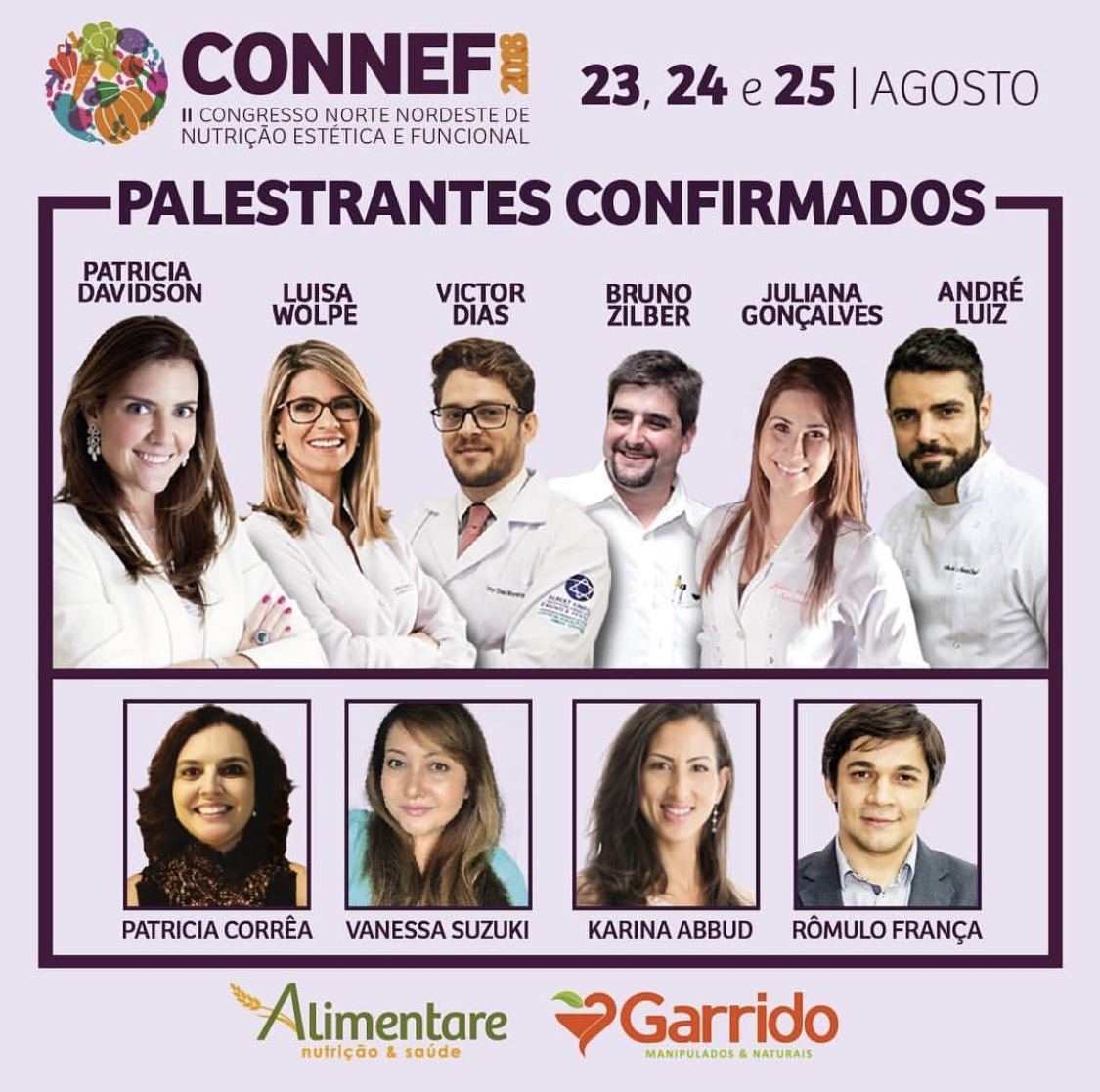 Presença confirmada no CONNEF 2018<