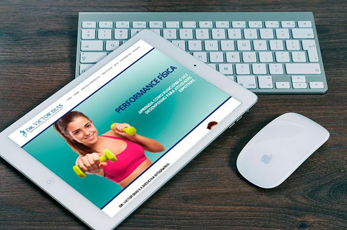 Dr. Victor Dias lança novo site<